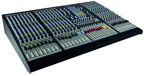 Allen and Heath GL2800 mengpaneel
