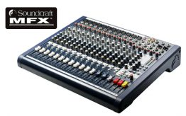 Soundcraft MFX 12 mengtafel